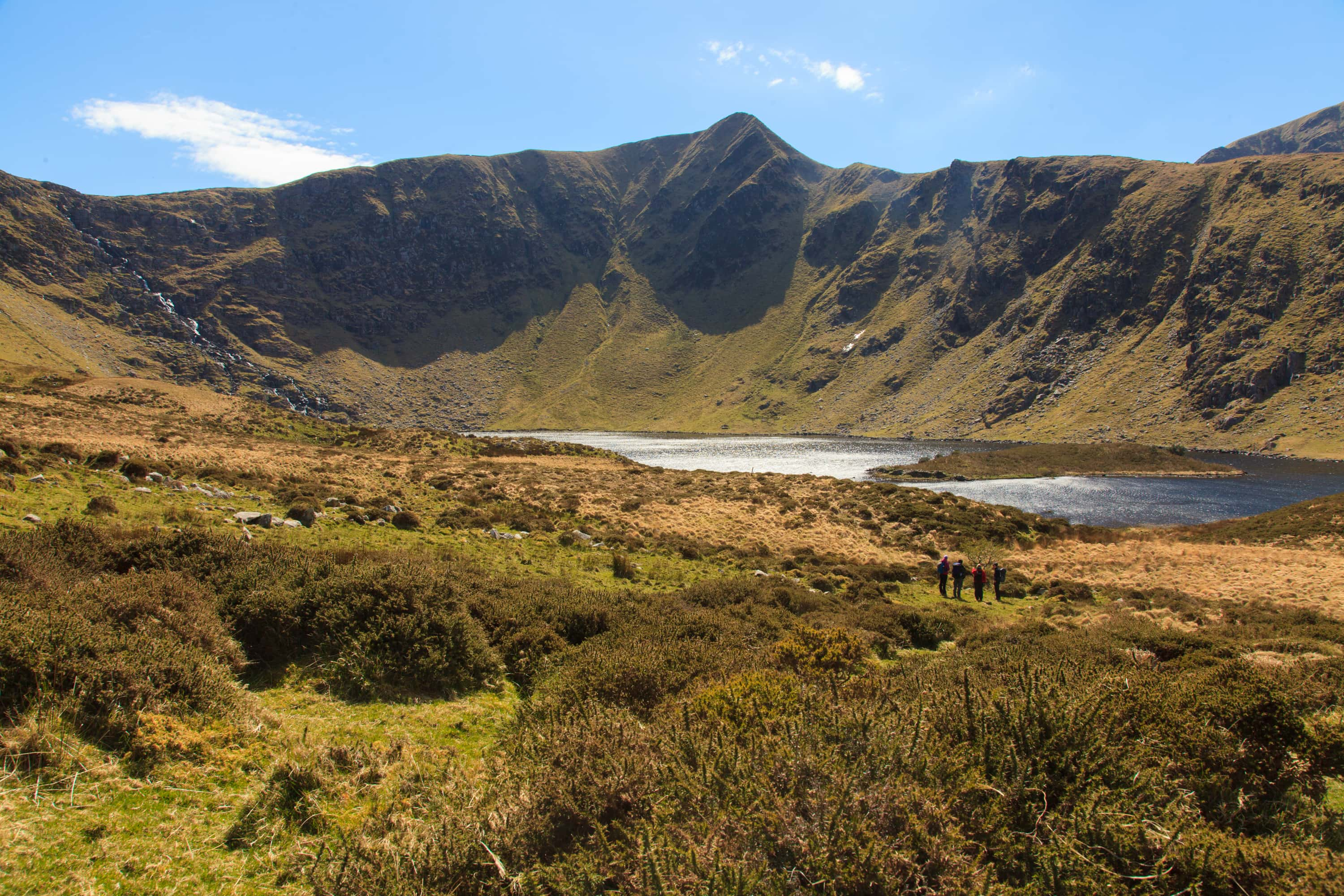 The beautiful valley of Loch a Duin.